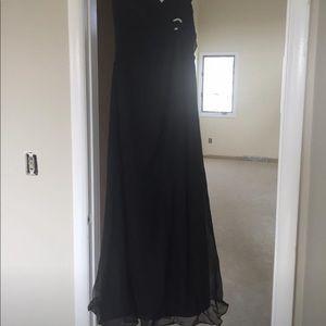 Impression Black Gown